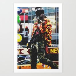 Famous Dex fulkl of b ape Art Print