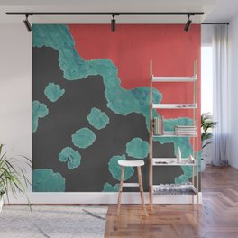 Watermelon Distortion Wall Mural