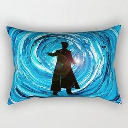 Doctor Inside Time Vortex Rectangular Pillow