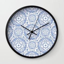 Blue Rhapsody Wall Clock