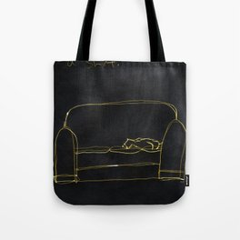 Not Your Cat Tote Bag