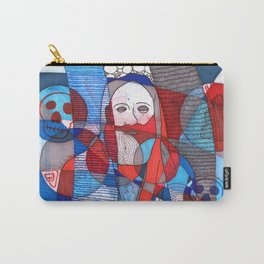 Meditator #27 Carry-All Pouch