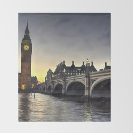 Westminster London Throw Blanket