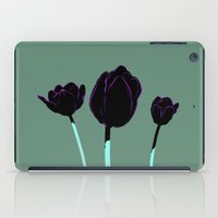 tulips iPad Cases featuring Tulips by Ludovic Jacqz
