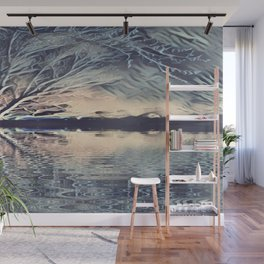 Ice Storm Reflection Wall Mural