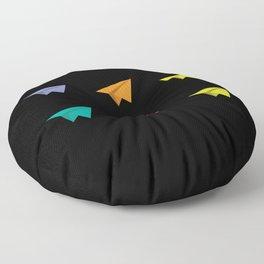 Paperplane Origami Hobby Floor Pillow