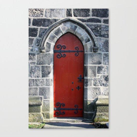 Red Door #4.2 Canvas Print