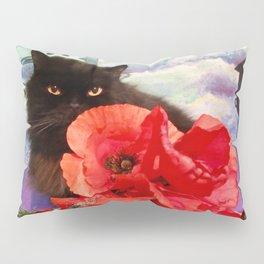 Pomponio Mela loves poppies Pillow Sham