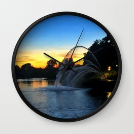 Thames River from London, Ontario Wall Clock