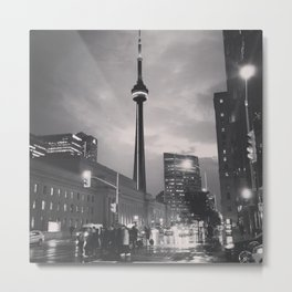 Last Night in Toronto Metal Print