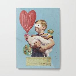 love in it Metal Print