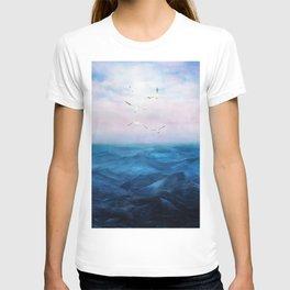Watercolor Sea 5 T-shirt