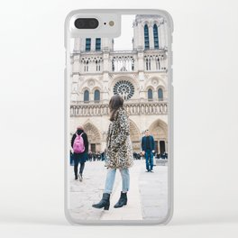 Notre Dame Clear iPhone Case