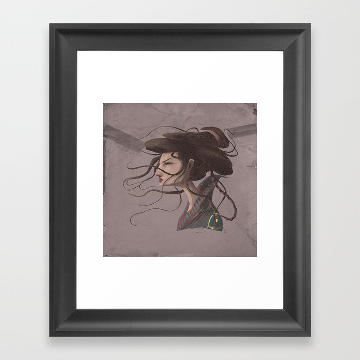 Gueixa #2 Framed Art Print