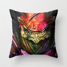 Wrex Throw Pillow