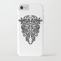 virgo iPhone & iPod Cases featuring Virgo by Mario Sayavedra