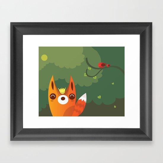 Kingfox Framed Art Print