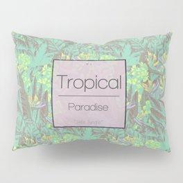 Tropical Paradise: Jade Jungle Pillow Sham