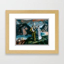 George Bellows, Fisherman's Family (1923) Framed Art Print
