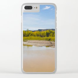 Theodore Roosevelt National Park North Unit, North Dakota 1 Clear iPhone Case