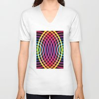 waves V-neck T-shirts featuring Waves by Gary Andrew Clarke