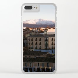 Evening in Segovia Clear iPhone Case