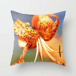 Orange Julius Throw Pillow
