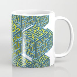 Cubed Mazes Coffee Mug