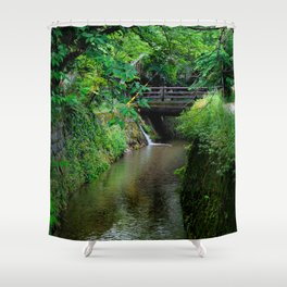 Kyoto Canal II Shower Curtain