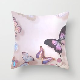 Ethereal Wings Throw Pillow