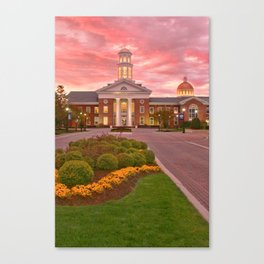 Trible Library CNU at Sunset Canvas Print