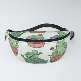 Cacti Cat pattern Fanny Pack