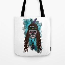 Juliette Style Errorface Skull Tote Bag