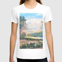 12,000pixel-500dpi - David Cox - On the Wye - Digital Remastered Edition T-shirt