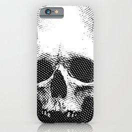 Engraving Skull iPhone Case