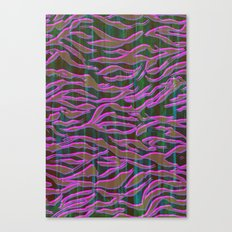 Zebra Pink Canvas Print