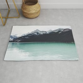 Lake Louise Reflections  Rug