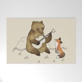 Bear & Fox Welcome Mat