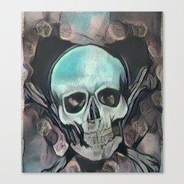 Love & death Canvas Print