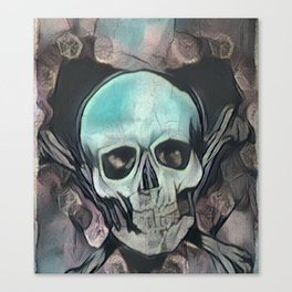 Love & death Canvas Print