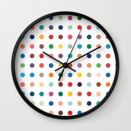 Modern Dots Wall Clock