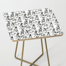 DALMATIAN / pattern pattern Side Table