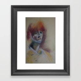 Klooster Series: Female Nude #207 Framed Art Print