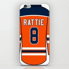 Ty Rattie Jersey iPhone Skin