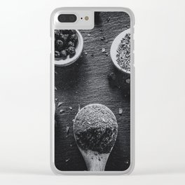 Spices. Clear iPhone Case