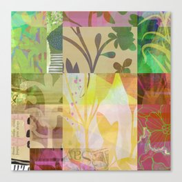 Perennials at Dusk Canvas Print