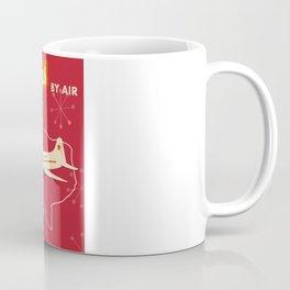 Texas By air vintage poster Coffee Mug