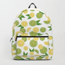Lemon Lime Citrus Fruits Backpack