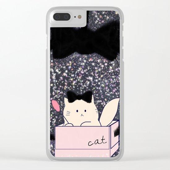cat-158 Clear iPhone Case