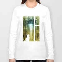 ufo Long Sleeve T-shirts featuring UFO by Bakal Evgeny